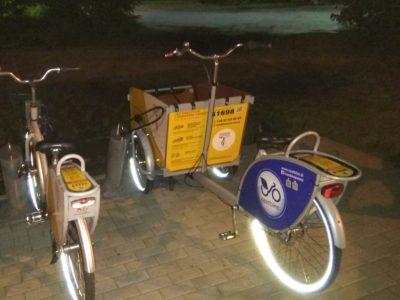 (Polski) Nowe rowery cargo w systemie Otwockiego Roweru Miejskiego